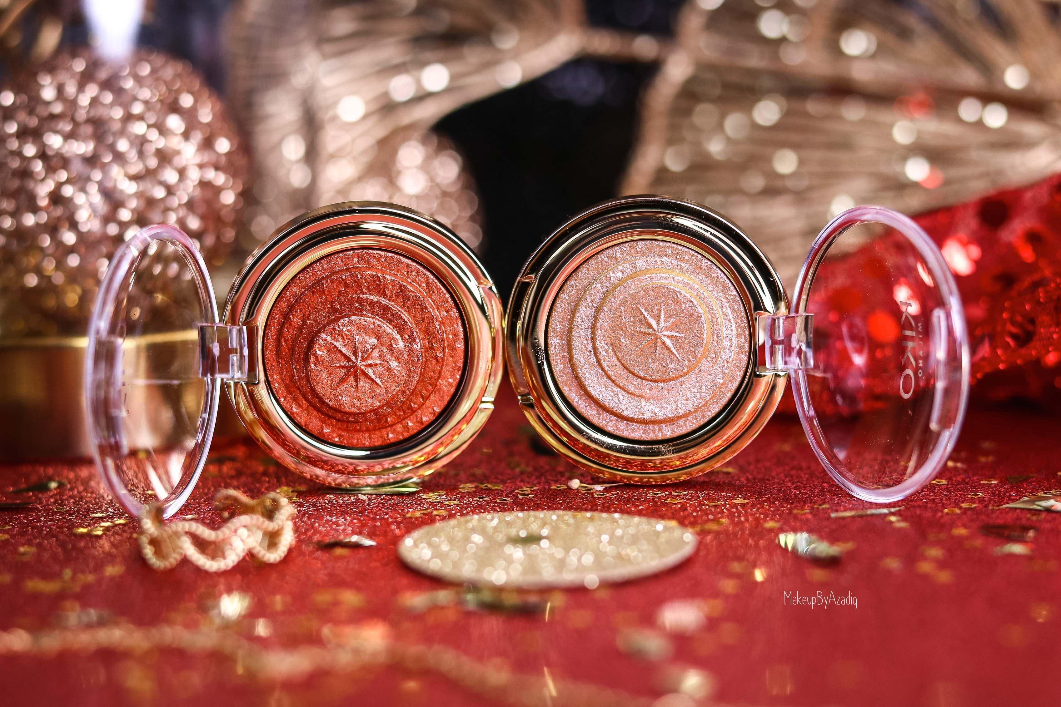 revue-collection-noel-kiko-milano-troyes-magical-holiday-rouge-levres-fard-paupieres-makeupbyazadig-avis-prix-swatch-paillete-2019-eyeshadows