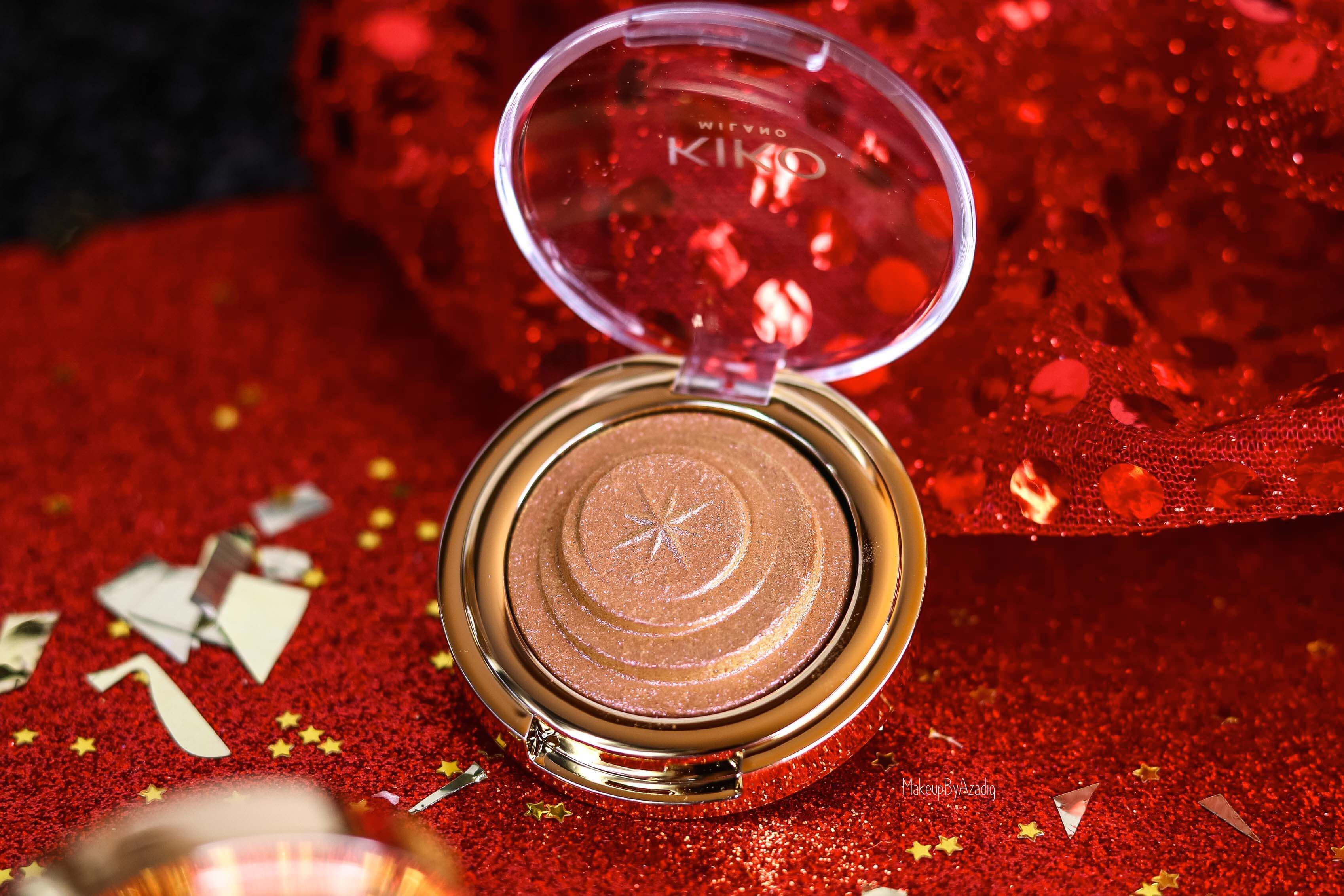 revue-collection-noel-kiko-milano-troyes-magical-holiday-rouge-levres-fard-paupieres-makeupbyazadig-avis-prix-swatch-paillete-2019-gold