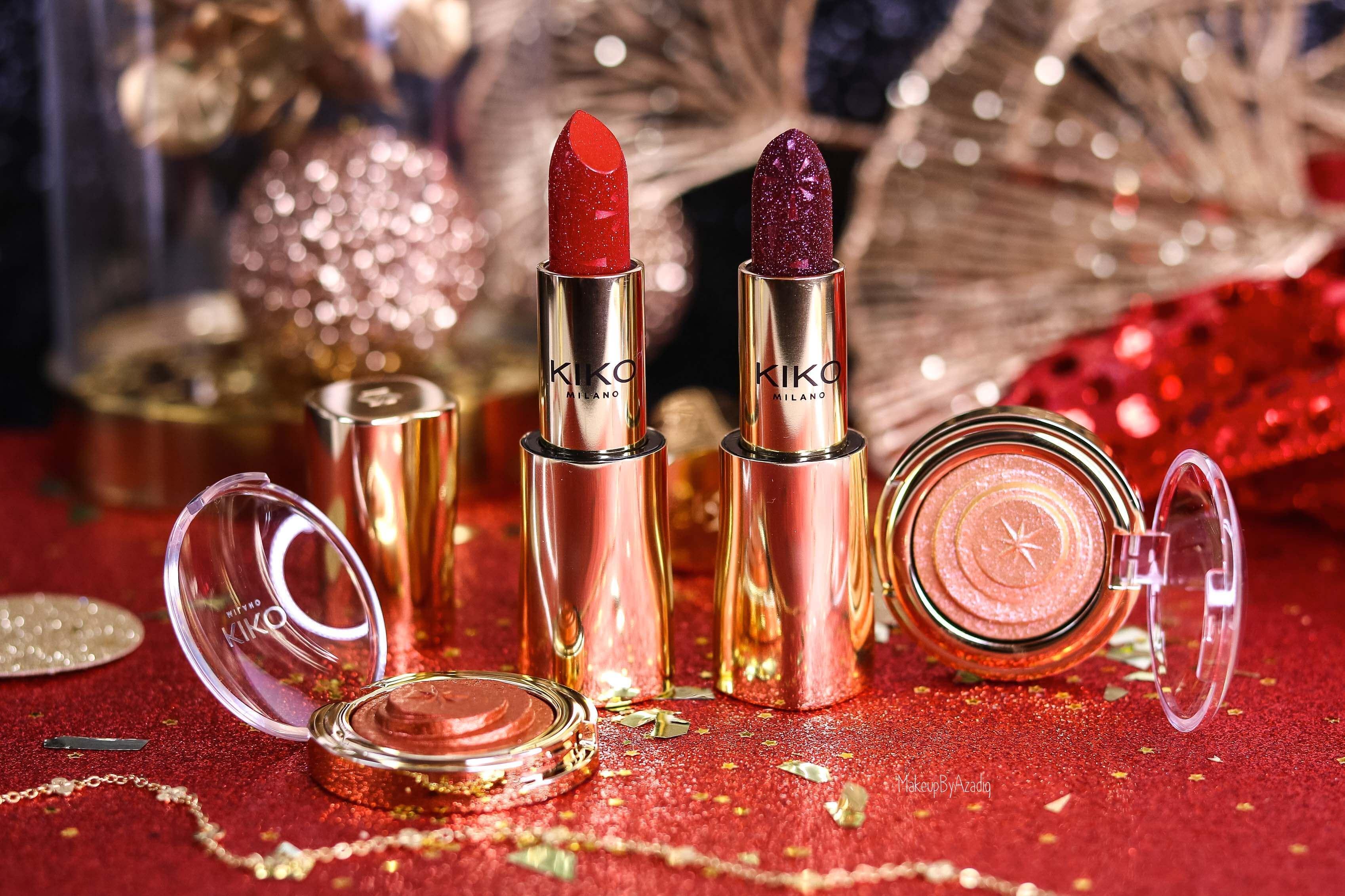 revue-collection-noel-kiko-milano-troyes-magical-holiday-rouge-levres-fard-paupieres-makeupbyazadig-avis-prix-swatch-paillete-2019-miniature