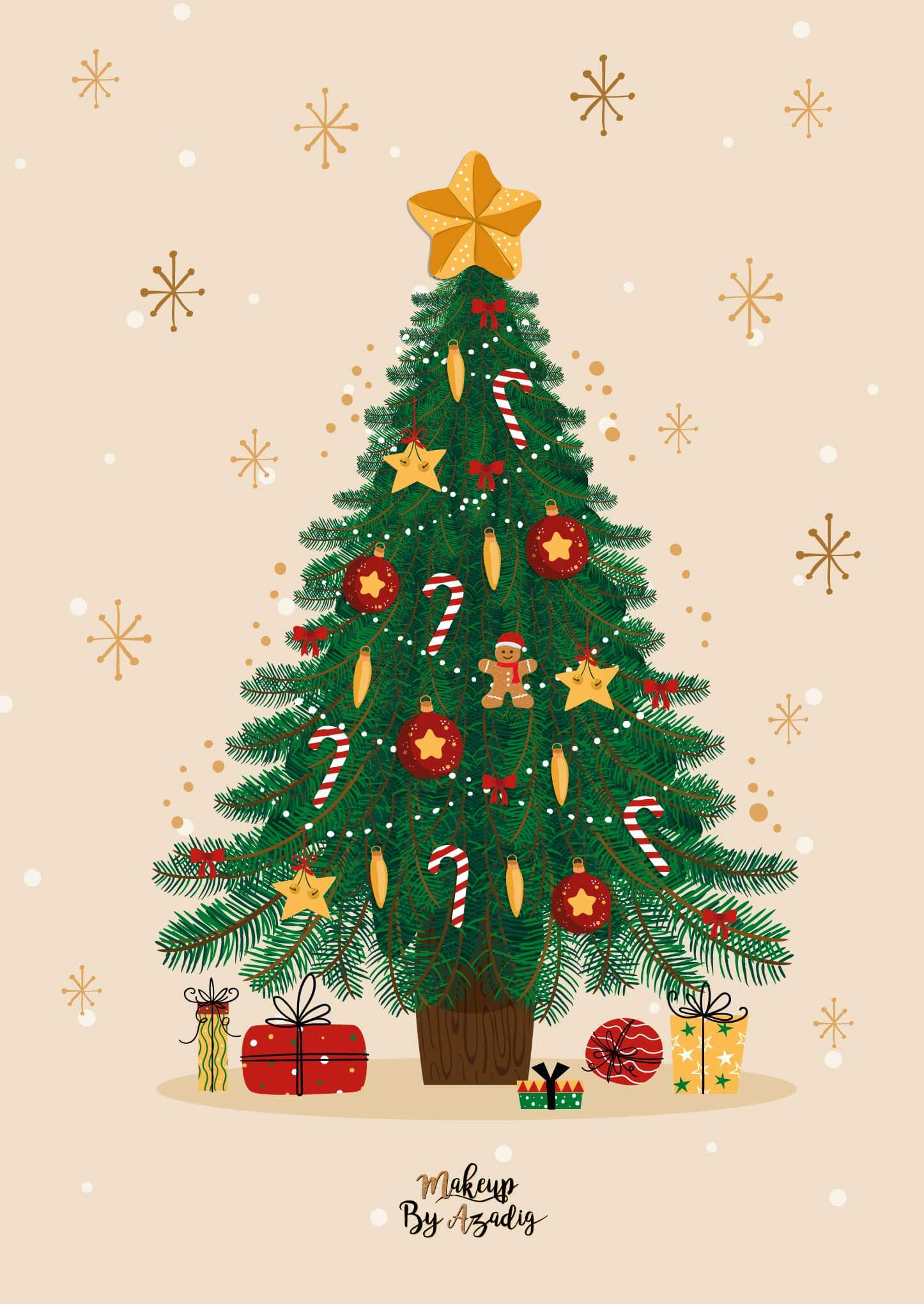 fond-decran-wallpaper-christmas-noel-tree-christmastree-ipad-tablette-apple-makeupbyazadig-tendance