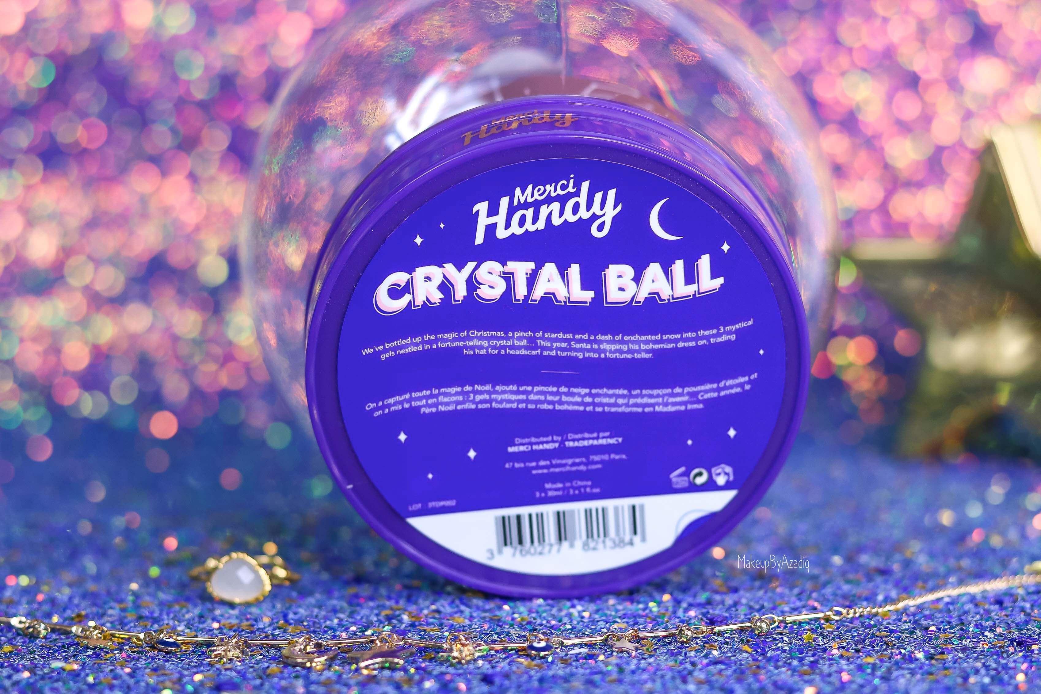 revue-coffret-collection-gel-antibacteriens-merci-handy-crystal-ball-mystique-makeupbyazadig-new-avis-prix-senteur-sephora-clean