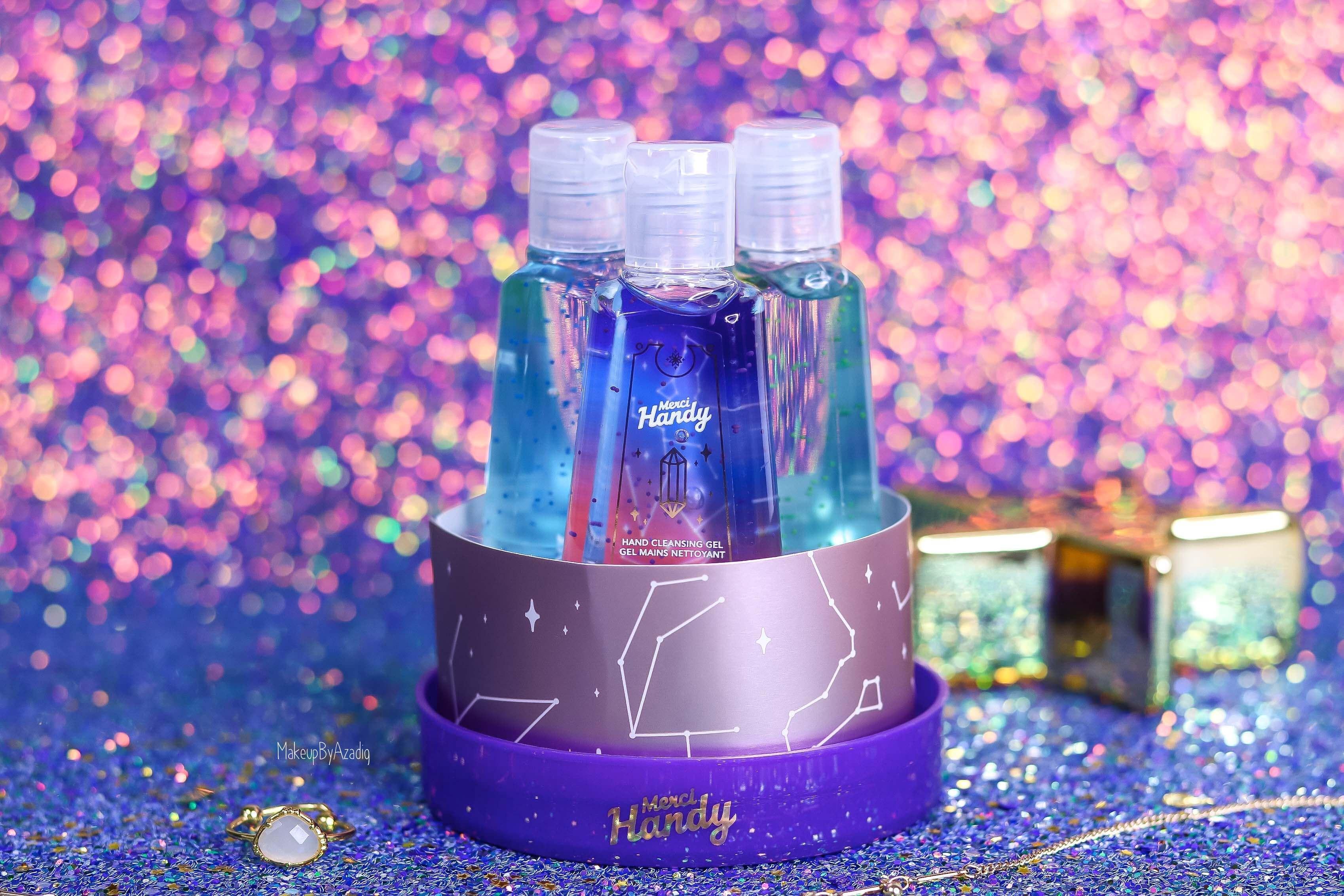 revue-coffret-collection-gel-antibacteriens-merci-handy-crystal-ball-mystique-makeupbyazadig-new-avis-prix-senteur-sephora-france-packaging