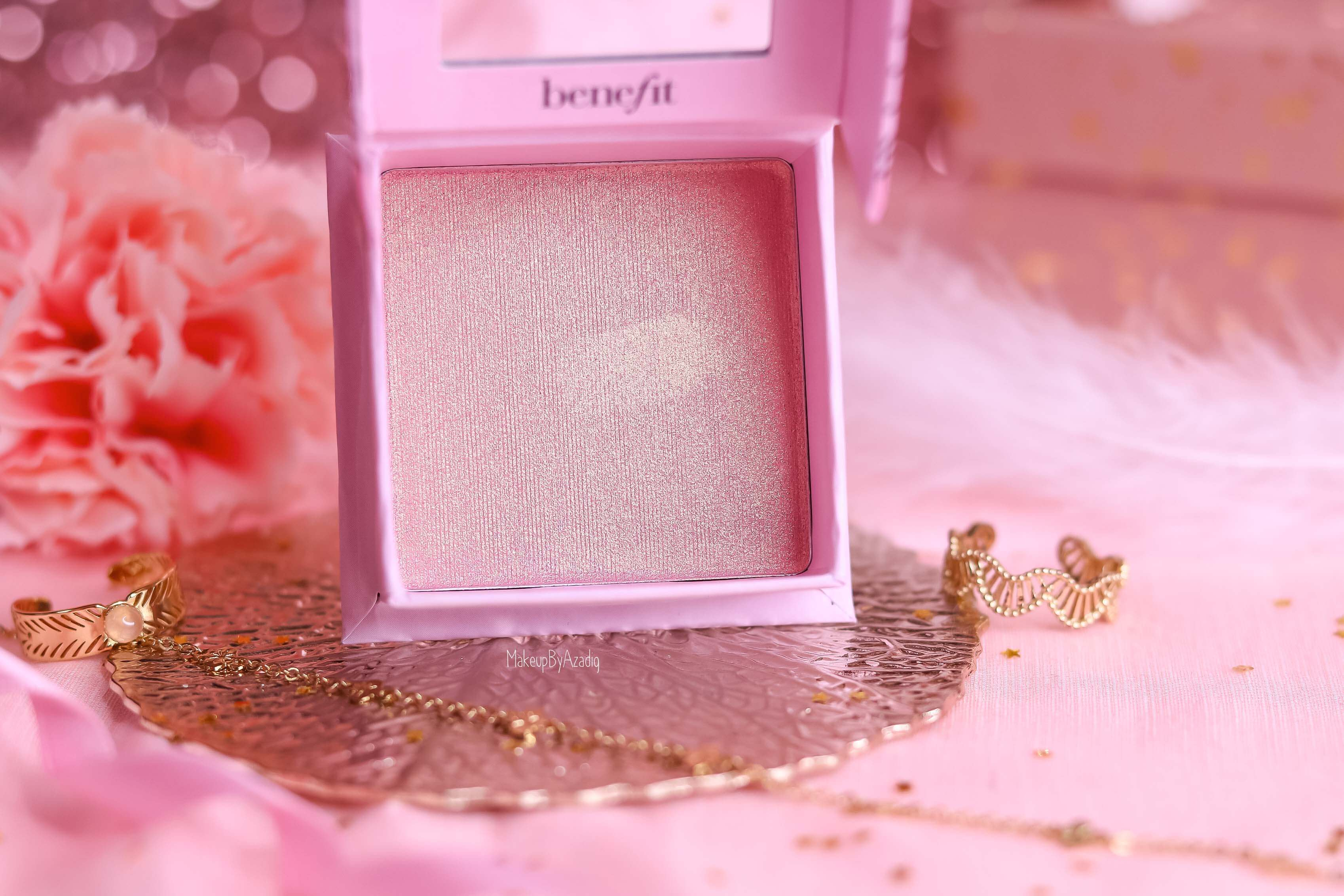 revue-highlighter-benefit-tickle-cookie-france-sephora-rose-gold-makeupbyazadig-avis-swatch-prix-teinte