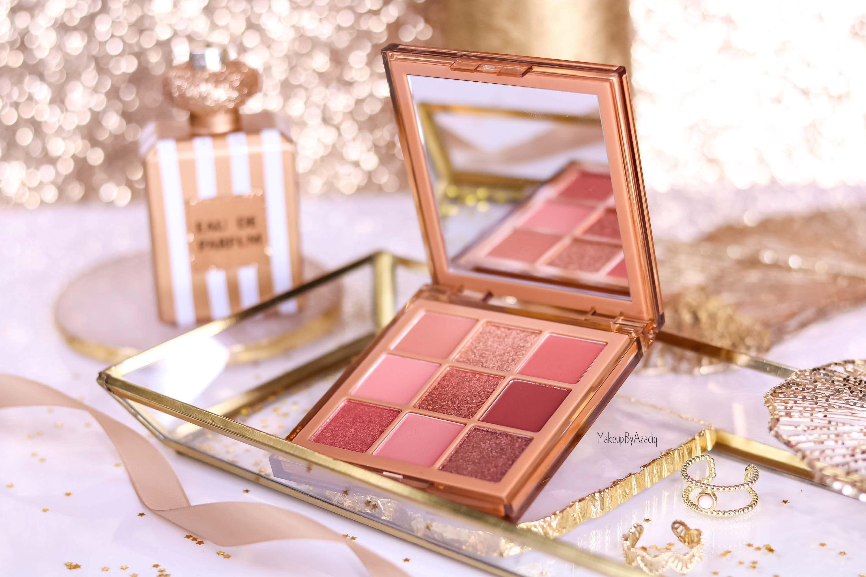 revue-palette-nude-obsessions-medium-huda-beauty-makeupbyazadig-avis-swatch-prix-dark-light-sephora-miniature