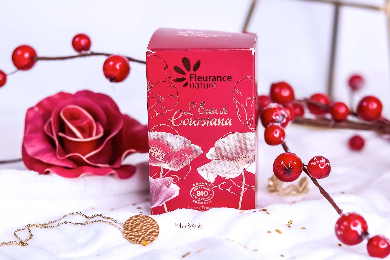 revue-parfum-bio-eau-coursiana-fleurance-nature-organic-cosmetic-makeupbyazadig-avis-prix-promo-fleur